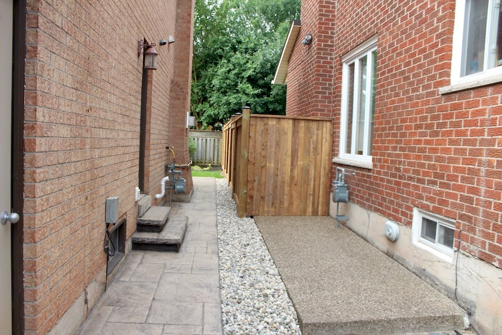 Stamped Aggregate walkway